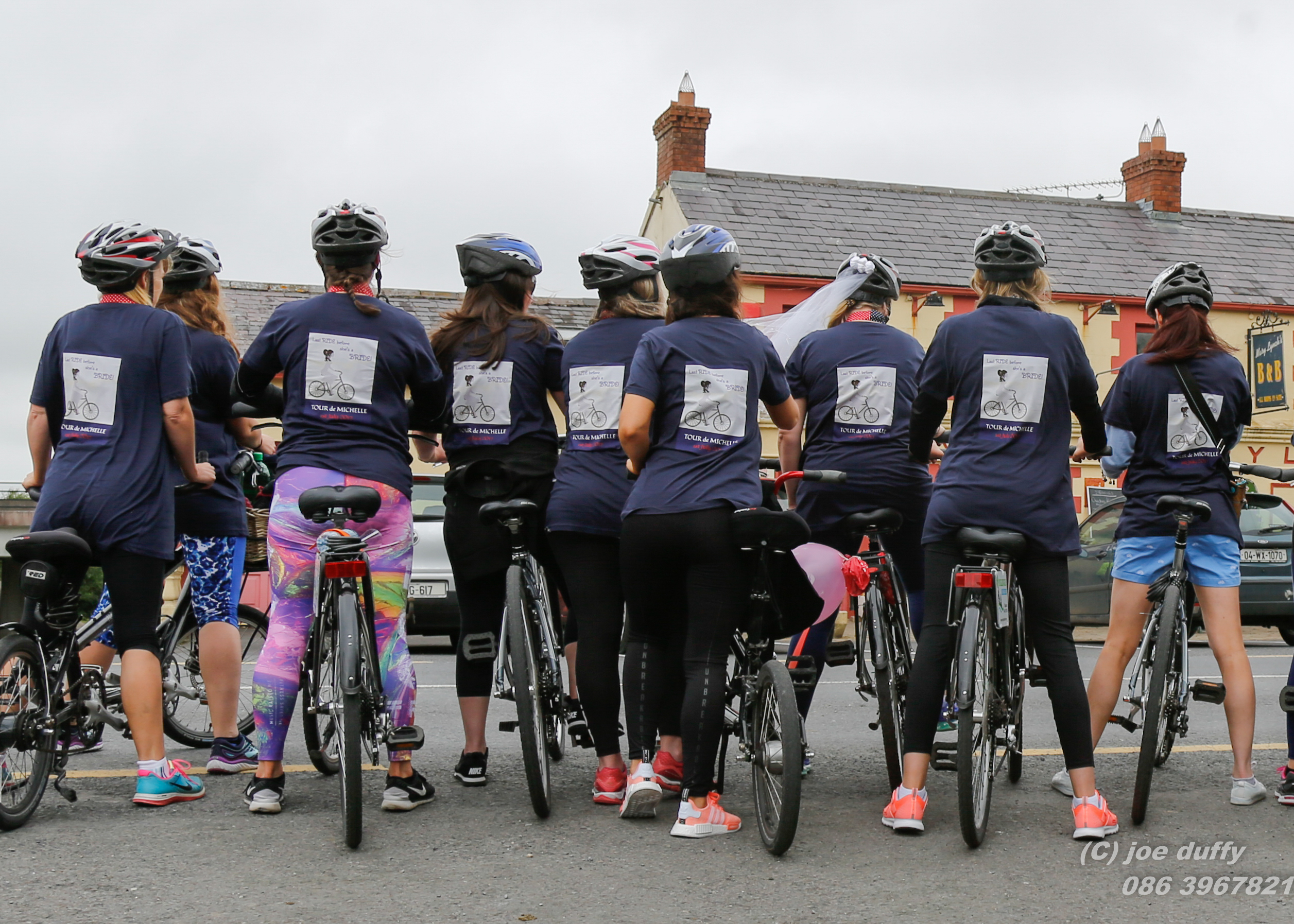hen party Bike Hire Mary Lynches